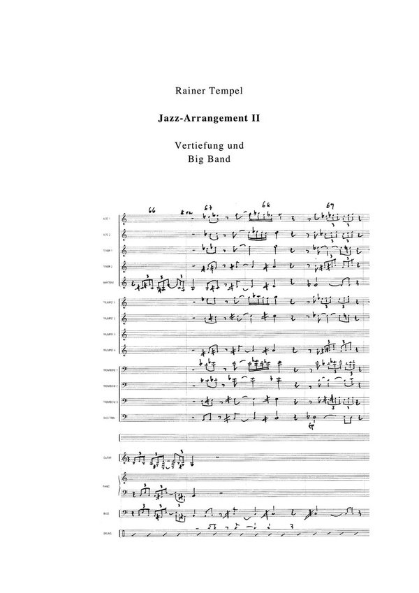Jazz Arrangement II